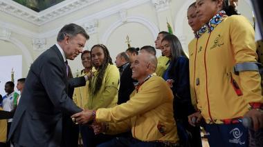 Presidente Santos radicó en el Congreso proyecto de ley que crea el Mindeporte