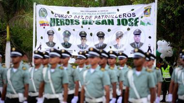 239 nuevos policías, 'Héroes de San José'