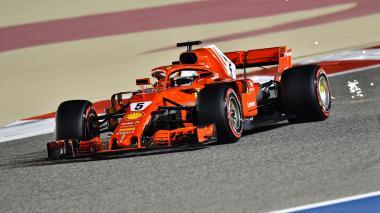 Sebastian Vettel saldrá de primero en el Gran Premio de Baréin