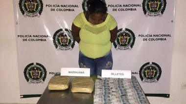 Isabel García, capturada por las autoridades.