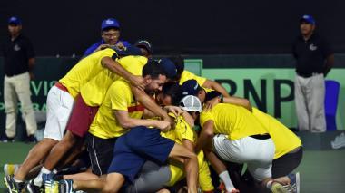 Argentina, rival de Colombia en la Copa Davis