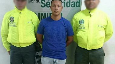 Julio César González Pérez, capturado por homicidio.