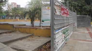 Distrito inicia trabajos de recuperación del Parque Venezuela
