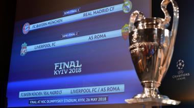 James volverá al Bernabéu  y Salah al Olímpico de Roma