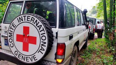Comisión de CICR llega a frontera colombo-ecuatoriana para gestionar entrega de cadáveres de periodistas