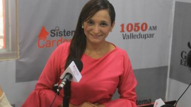 Herlency Gutiérrez, la periodista que recibió amenazas.
