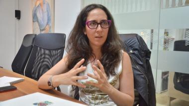 Diana Bustamante, ex directora artística del Festival de Cine de Cartagena.