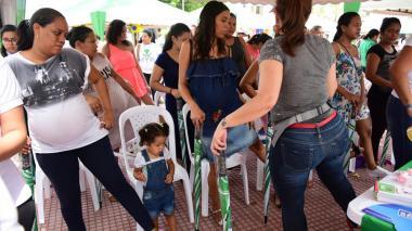 Distrito promueve el parto natural entre 500 embarazadas