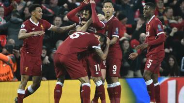Goles de Salah y Firmino dejan al Liverpool muy cerca de la final de Champions