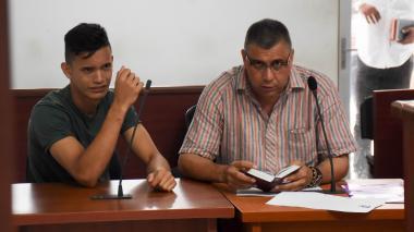Luis Carlos Maestre Páez en audiencia.