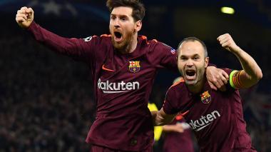 """""""Lamento que Iniesta no se vaya con un triplete"""": Messi"""