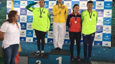 Shanee Torres brilla en Ecuador