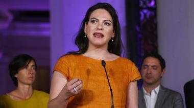 """""""Soy una actriz disponible para trabajar y aquí estoy para eso"""": Daniela Vega"""