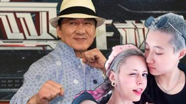 Hija de Jackie Chan publica video donde lo acusa de 'homofóbico'
