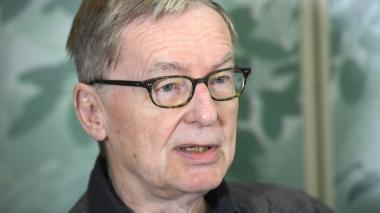 Presidente de la Academia Sueca, Anders Olsson.