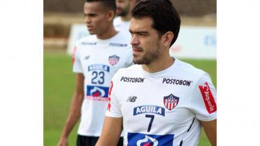Sebastián Hernández, mediocampista de Junior.
