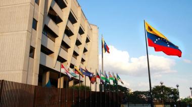 Fachada del Tribunal Supremo de Venezuela.