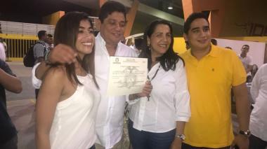 Quinto Guerra ya tiene su credencial como alcalde de Cartagena