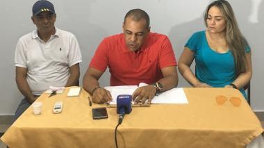 Federico Padilla, Sergio Torres y María Caballero.