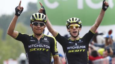 Esteban Chaves gana la sexta etapa del Giro