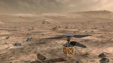 La Nasa prevé enviar un mini-helicóptero a Marte en 2020