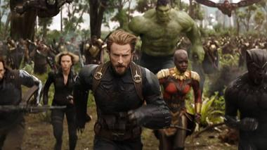 'Avengers: Infinity War' se mantiene a la cabeza de la taquilla