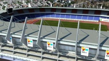 Se cambiará la cubierta del estadio Metropolitano