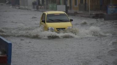 Llueve este lunes en diferentes sectores de Barranquilla