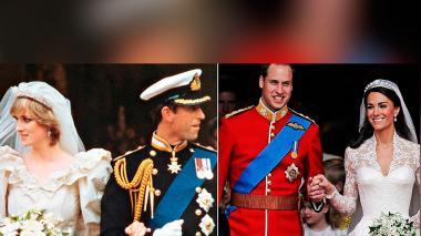 Las tres bodas reales que han marcado a Reino Unido
