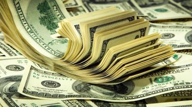 Billetes estadounidenses de alta denominación.