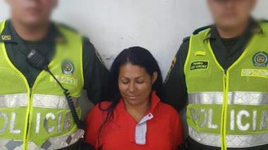 Alba Judith Tabares Parejo, asegurada en establecimiento carcelario.
