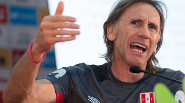 Gareca reclama revertir sanción del TAS contra Guerrero