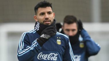 """Siento la rodilla como nueva"": Aguero"
