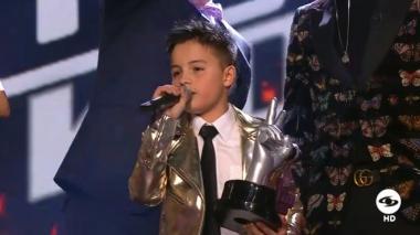 Juanse Laverde gana La Voz Kids 2018
