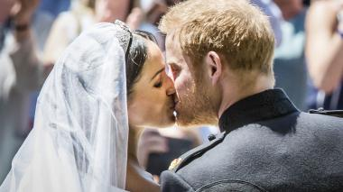 Ante los ojos  del mundo Harry y Meghan unieron sus vidas