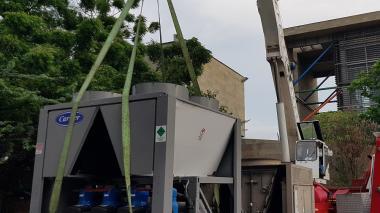Comienza instalación de aire acondicionado del Museo del Caribe