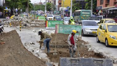 Cierran tramos de la calle 72 por trabajos de reparación en las vías