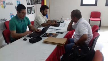 Comisión de inspección, vigilancia y control de Coldeportes visita Ligas en el Atlántico