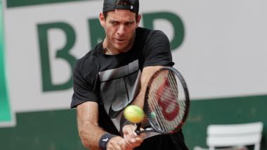 Juan Martín del Potro, la gran duda de Roland Garros