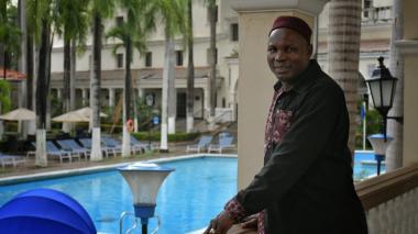 El Príncipe de Camerún está en Barranquilla