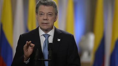 """""""La paz, la gran ganadora de las elecciones: Santos a Pastrana"""