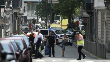 Cuatro muertos, entre ellos dos policías, deja un tiroteo en Bélgica