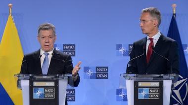 Colombia formaliza su cooperación con la Otan