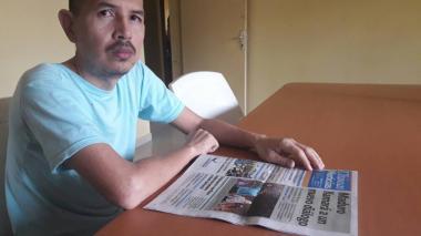 Juan Carlos Sánchez Latorre, en una fotografía reciente.