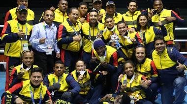 Colombia, campeón de los XI Juegos Suramericanos Cochabamba-2018