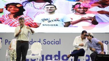 Más de 400.000 atlanticenses salieron de la pobreza en los últimos ocho años: Santos en Barranquilla