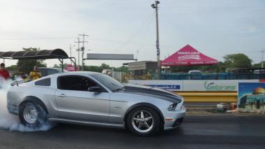 Un barranquillero, el dueño del Mustang más rápido de Colombia