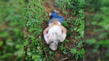 Hallan cadáver amordazado en trocha del municipio de Juan de Acosta