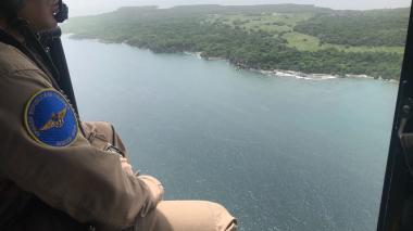 En video | Armada busca a dos náufragos venezolanos en Islas del Rosario