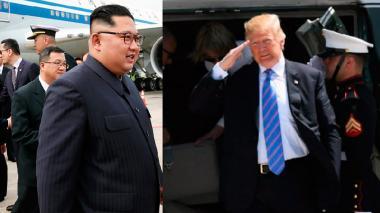 El primero en arribar fue el líder de Corea del Norte. Luego lo hizo el presidente de Estados Unidos.